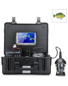 Undervattenskamera, med roterande kamera, videoinspelning, 7tums färgskä