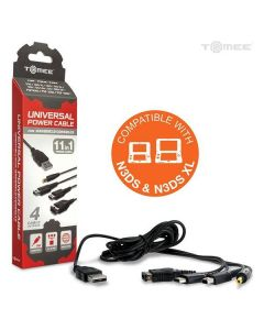 Universal Power Cable for New 3DS/ New 3DS XL/ 2DS/ 3DS XL/ 3DS/
