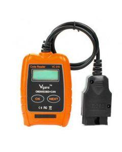 Vgate VC310 Scanner, bilscanner med felkodsläsare, ny version