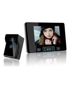 Videporttelefon med mörkersyn, tvåvägskommunikation och upplåsning