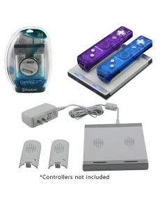 Wii motion plus dual charge station + 2st batteri