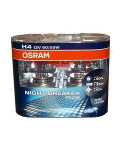 Xenonlampor, Osram H4, 12V, 60/55W Night Breaker 2-pack