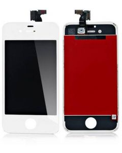 Ytterglas Display LCD, Digitizer till vit iPhone 4S