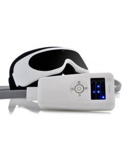 Ögonmassage, IR värme tidskontroll och avslappnande musik