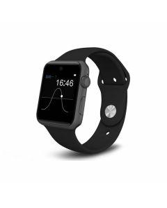 Väldesignad Smartwatch med SIM-kort och Kamera - Svart