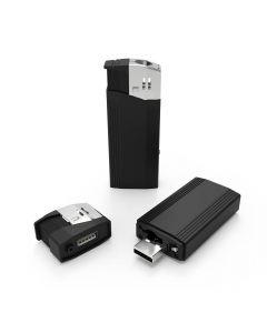 SpyCam PRO Lighter, Spionkamera i Tändare, IP-Kamera, Rörelsedetektion, Ficklampa