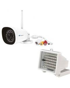 Asgari 1080PRO + 80m IR Mörkersyn, 1080p HD IP Kamera, Wifi, Plug and play