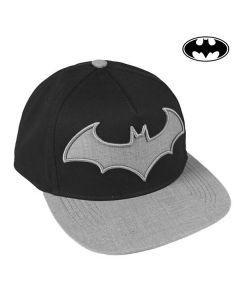 Batman keps, svart/grå - framsida