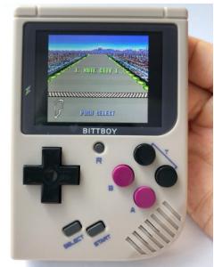 BittBoy, Retro Tv-spel, V3.5+8GB, Spelkonsoll, Handhållen + Förvaringsväska
