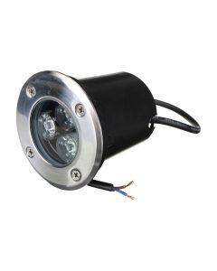 3W blå LED-markspot för utomhusbruk, 350 lm, IP65