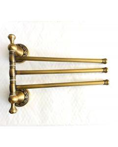 Handdukshängare i Guld, 3 armar