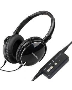 Over-ear hörlurar med aktiv brusreduktion