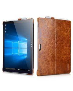 Mörkbrunt läderskal för Surface Pro 4