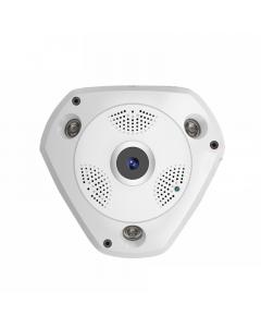 Inomhus Övervakningskamera Fisheye 360, WiFi, 4G, PTZ, 5MP, MicroSD
