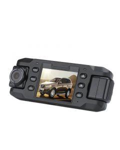 Bilkamera med två roterbara kameror och GPS