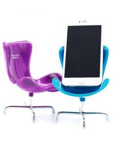 Rolig mobilhållare, Stol (Blå)