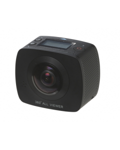 Denver ACV-8305W, 360 graders HD Actionkamera, 220°, WiFi, 2x4MP CMOS Sensor