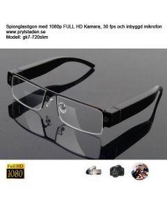 Nya Diskreta Spionglasögon 1080p  slimmad modell