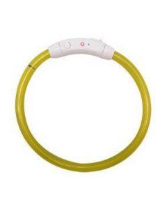 LED halsband för hund