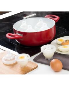 Set för äggkokning InnovaGoods (7 delar)