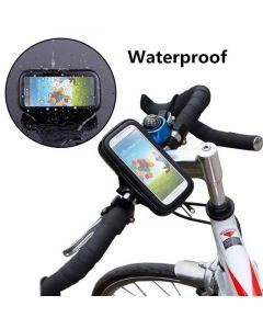 Vattentätt mobilhållare med fodral till cykel