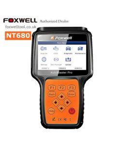 Foxwell NT680 - Felkodsläsare för alla system, EPB, Olja