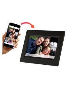 Frameo 7'' Digital fotoram, WiFi, IPS 16:9 pekskärm, 1024x600