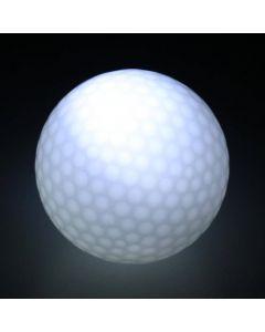 Golfboll med stötaktiverat LED-ljus