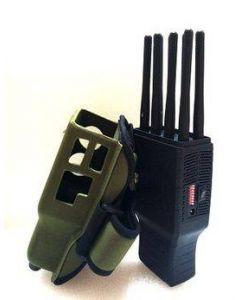 Kraftfull GPS Jammer för militärt bruk, stör ut 2g, 3g, 4g, GPS, GSM