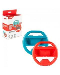 Nintendo Switch 2-pack racingratt, blå/röd