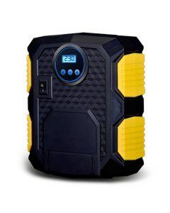 Portabel 12V automatisk luftkompressor för bilen med digital tryckmätare