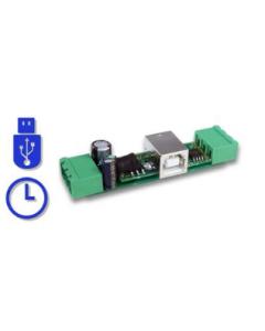 SerialGhost Modul TimeKeeper, 16GB, Modulär RS232 Logger och seriebuss logger, Tidstämpling, Flashdrive