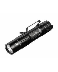 Taktisk Ficklampa i Fickstorlek TrustFire L2, 1000 Lumen, Vattentät