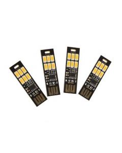 1W LED mini-torch i form av USB-sticka, touch-dimmer