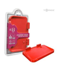 3DS XL CHARGE DOCK (RED) - TOMEE