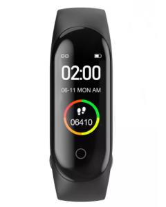 M4C Smartwatch, Hjärt och O2 monitor, Fitness Tracker, IP68 vattentät
