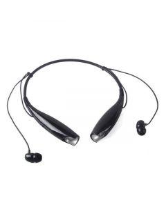 Bluetooth-hörlurar med nackband och magnetiska In-ear snäckor, mikrofon, mediaknappar