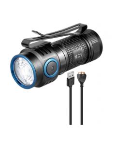 Superstark Mini-Ficklampa, MC1 , LED, IP67, 1000 Lumen, Vattentät IPX8