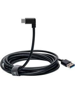 Oculus Link Premiumkabel USB-C-A, 5 GB/s, Snabbladdning, Oculus Quest, 5m