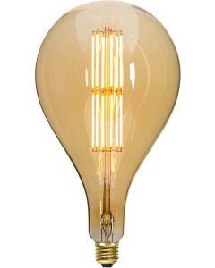 Retro LED dekorationslampa, E27, A165, 2000K, 650lm, 10W, Dimmerkompatibel