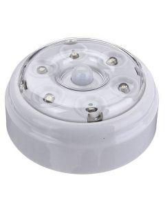 Portabel LED-lampa med automatisk rörelseaktiverad PIR-sensor, 6 st LED-dioder