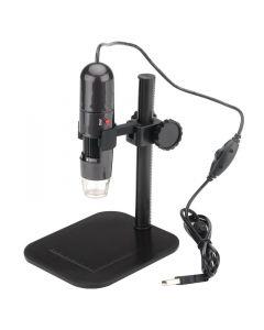 USB-mikroskop med 1000x zoom, justerbar fokus, LED-belysning, 1280x1024, 30 fps