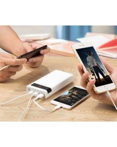 Powerbank 3000 mAh, lightning, USB-C, USB, Micro-USB, quickcharge 3A
