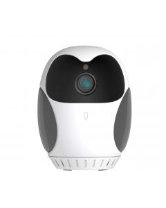 Trådlös Inomhus Övervakningskamera Homecam Mini, HD 1080p, 360° Pan, 4x Zoom, Tvåvägsljud
