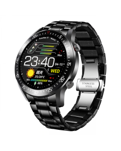SmartWatch Sport LIGE 2020 Metal, Fitness tracker, Bluetooth, IP68 Vattentät, Blodtrycksmätare