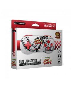SNES Kontroller, PC/SNES dual link, USB, Street Fighter - Kartong