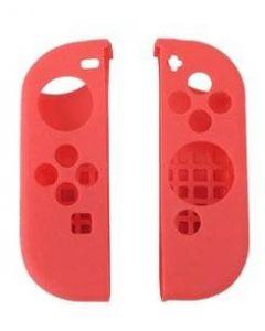 Nintendo Switch Joycon silikonskal 2-pack - Röd