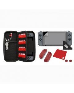 Switch Starter Kit - Mario 'M' edition - innehåll