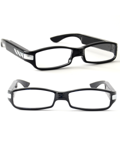 Spionglasögon slim 1080p HD kamera, mikrofon & rörelseaktivering