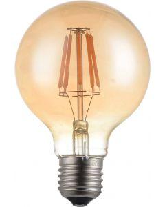 E27, 8W, LED Vintage Glödlampa, 360 graders spridning, G95